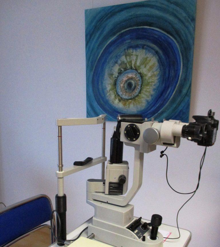 Augendianose-Irisdiagnose